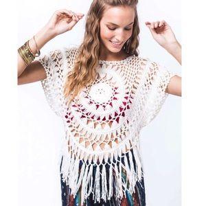 Earthbound |  Crochet Knit Top